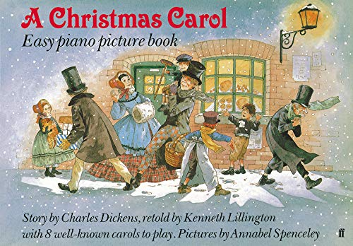 A Christmas Carol: Easy Piano Picture Book.: Kenneth Lillington.