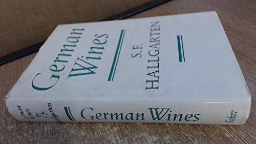9780571101498: German wines (Faber books on wine)