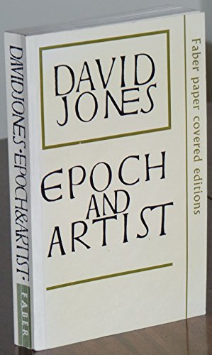 9780571101528: Epoch and Artist (Faber paper covered editions)