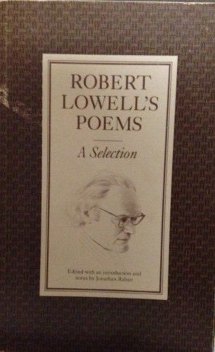 9780571101825: Robert Lowell Poems: A Selection