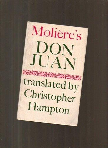 9780571101931: Don Juan