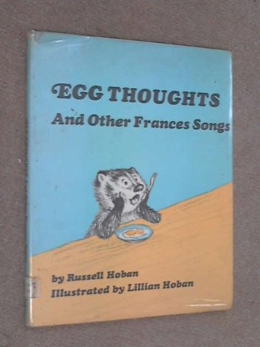 9780571102037: Egg Thoughts and Other Frances Songs