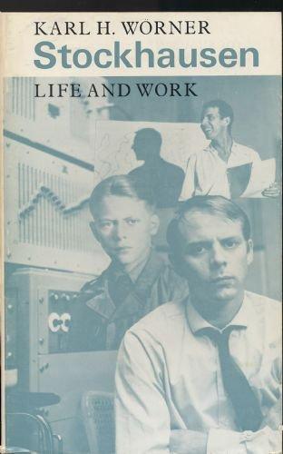 9780571102440: Stockhausen: Life and Work
