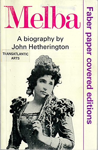 Melba: Hetherington, John