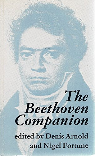 9780571103188: The Beethoven Companion