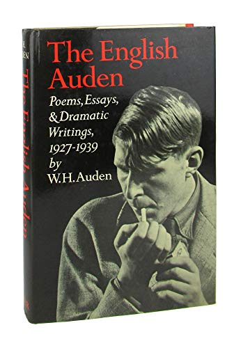 the english auden poems essays and dramatic writings Barbara hardy the english auden, poems, essays, & dramatic writings, 1927–1939, english: journal of the english association, volume 28, issue 131, 1 july.