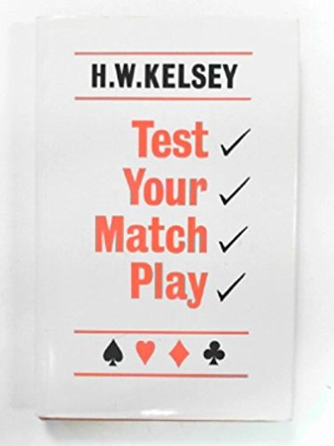 9780571110056: Test Your Match Play