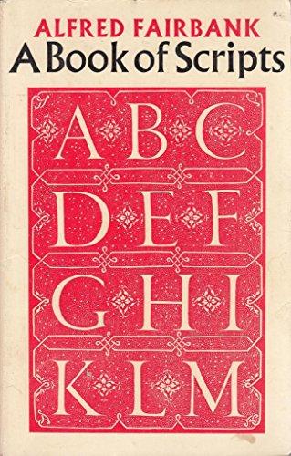 9780571110803: Book of Scripts