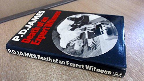 Death of an Expert Witness: James, P. D.