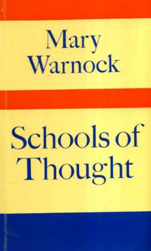 9780571111619: Schools of Thought