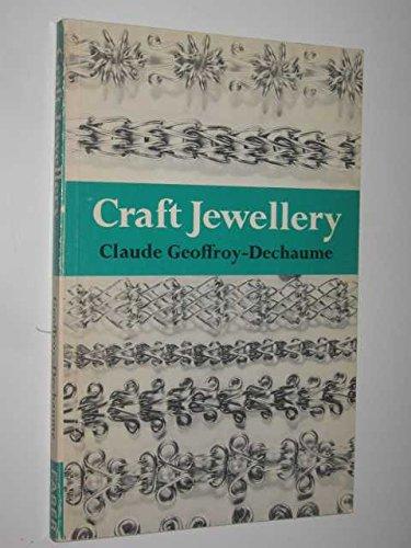 9780571113095: Craft Jewellery