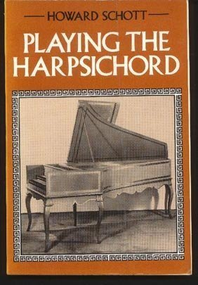 9780571113750: Playing the harpsichord