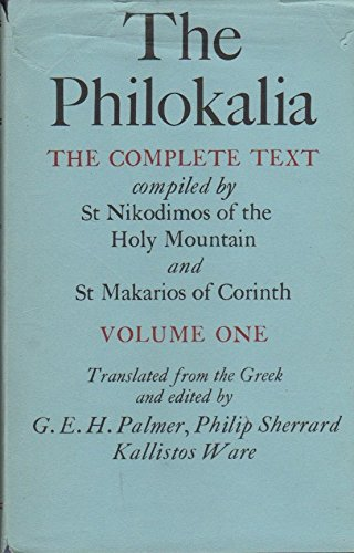 9780571113774: The Philokalia: The Complete Text, Vol. 1