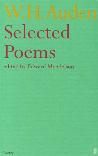 w.h.auden - selected poems