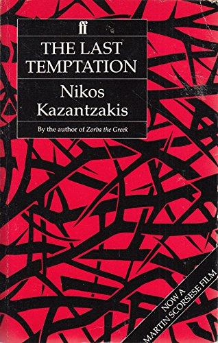 9780571114344: The Last Temptation