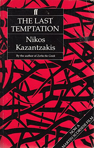 9780571114344: The Last Temptation of Christ