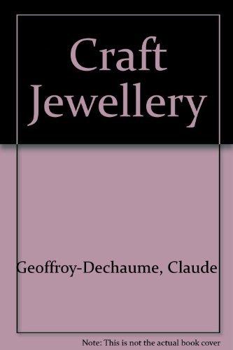 9780571114863: Craft Jewellery