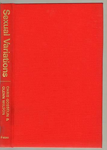 9780571115389: Sexual Variations: Fetishism, Transvestism and Sado-masochism
