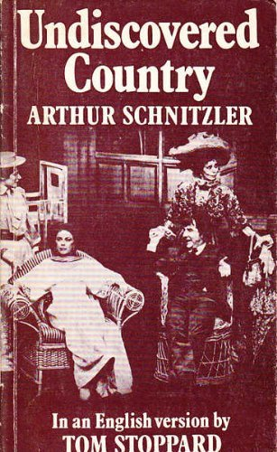 Undiscovered Country (Faber paperbacks): Schnitzler, Arthur
