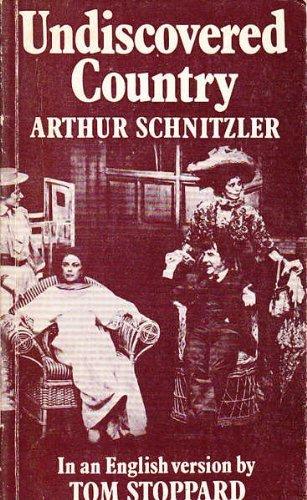 Undiscovered Country (Faber paperbacks): Schnitzler, Arthur