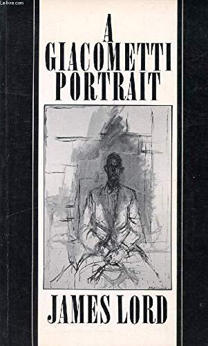9780571116683: A Giacometti portrait