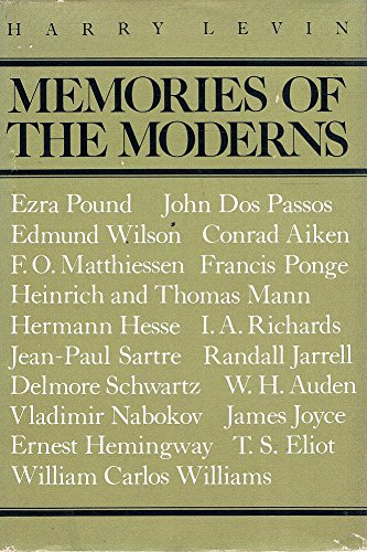 9780571117055: Memories of The Moderns