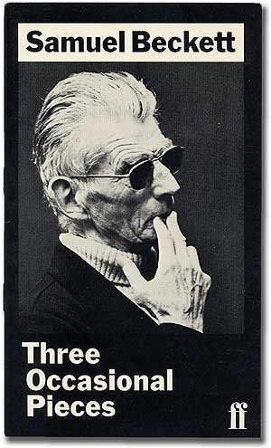 9780571118007: Three Occasional Pieces