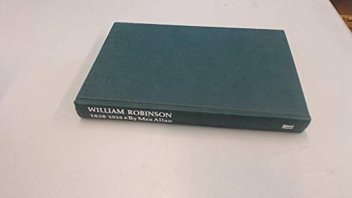 9780571118656: William Robinson, 1838-1935: Father of the English Flower Garden