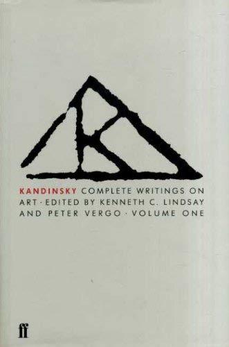 9780571119356: Kandinsky Complete Writings on Art: Vol 1. & 2.