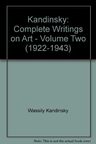 9780571119363: Kandinsky: Complete Writings on Art, Volume Two