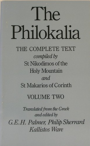 9780571125487: The Philokalia: The Complete Text, Vol. 2
