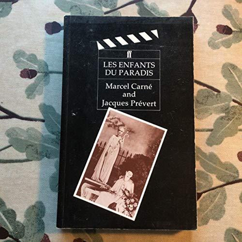 9780571125746: Les Enfants Du Paradis: Film Script