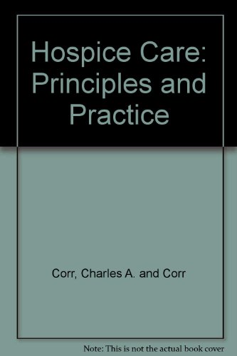 9780571130672: Hospice Care: Principles and Practice