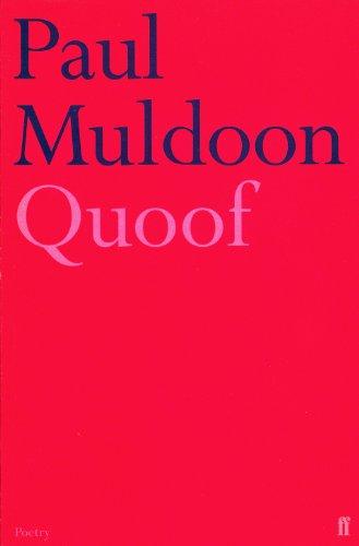 Quoof.: Muldoon, Paul