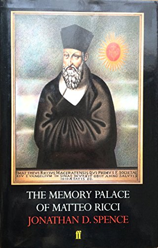9780571132393: The Memory Palace of Matteo Ricci