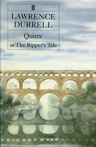9780571134441: Quinx or the Ripper's Tale