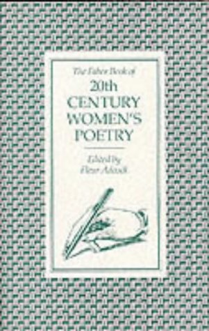 9780571136933: The Faber Book of 20th Century Women's Poetry