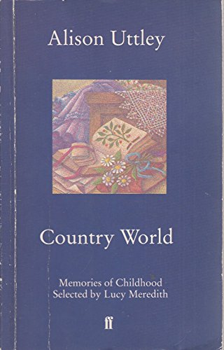 9780571137848: Country World : Memories of Childhood