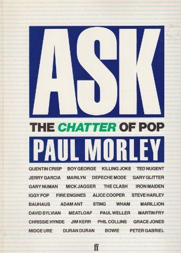 9780571138135: Ask: The Chatter of Pop
