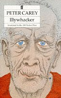original cover of Peter Carey's Illywhacker