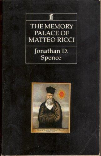 9780571139590: The Memory Palace of Matteo Ricci