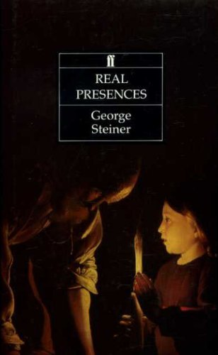 9780571140718: Real Presences: Is There Anything in What We Say?