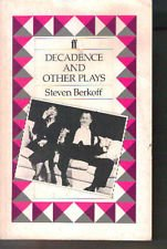 9780571140732: Decadence and Other Plays:
