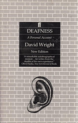 9780571141951: Deafness: A Personal Account