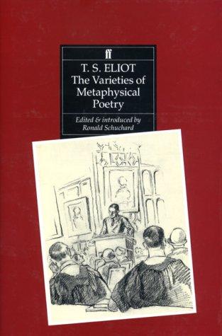 9780571142309: The Varieties of Metaphysical Poetry