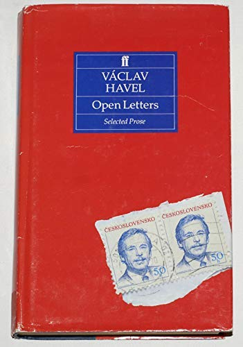 9780571143702: Open Letters: Selected Prose