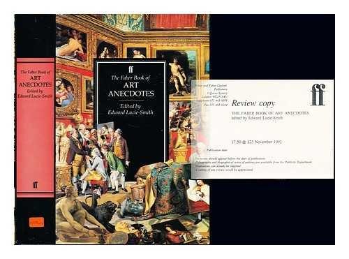 9780571143825: The Faber Book of Art Anecdotes