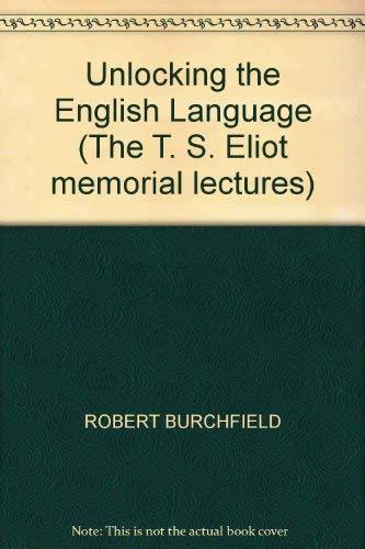 9780571144167: Unlocking the English Language