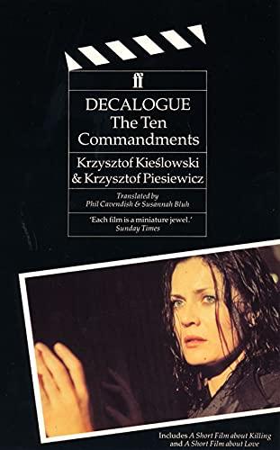 9780571144983: Decalogue: The Ten Commandments