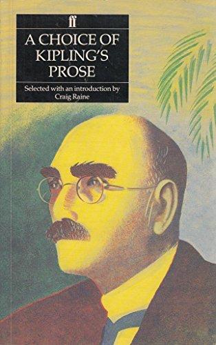 9780571147038: A Choice of Kipling's Prose